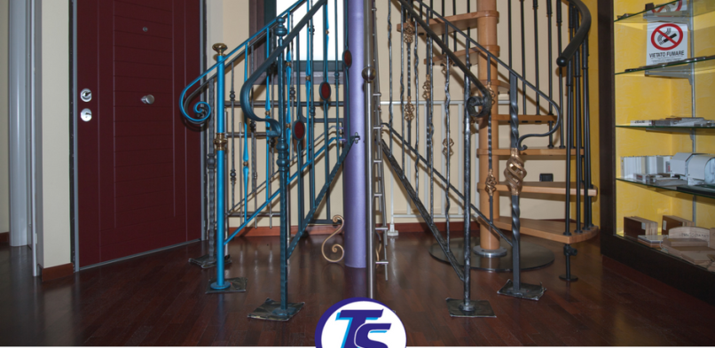 La scelta delle ringhiere per scale interne