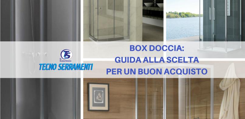 Box doccia: guida per un buon acquisto