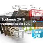 Ecobonus 2018 Detrazione fiscale 50%